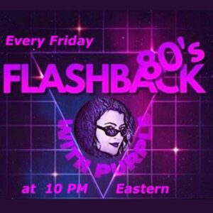 Flashback 80's with Purple